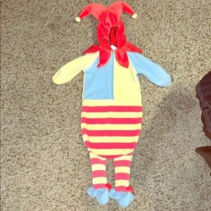 Baby Style Costumes - Newborn Jester Halloween Costume
